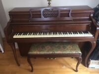 Piano George Steck New York Paris London
