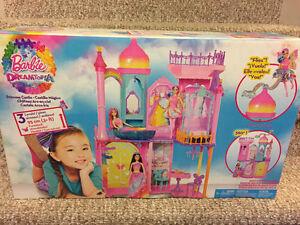 New! Barbie Dreamtopia Princess Castle
