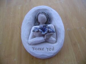 WILLOW TREE THANK YOU PLAQUE Windsor Region Ontario image 1
