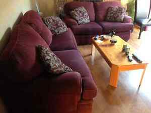 Sofa and Love Seat - Must Go ASAP! $100.00!