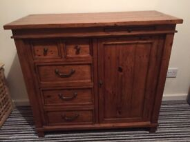 Beautiful rustic oak sideboard