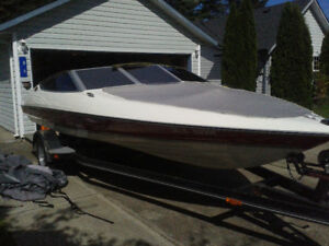 20' Bayliner Arriva Ski Boat with Mercury Black Max 150