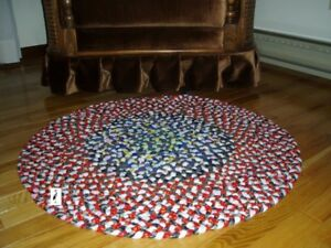 Braided Rug - Hand Made - New