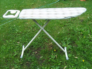 Excellent Condition: Metal Ironing Board With Slip Cover