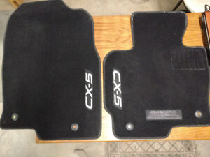 Mazda CX-5 Original Front Floor Mats Excellent Condition