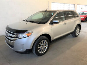 FORD EDGE LIMITED 2014 AWD 4X4 CUIR TOIT PANO NAV CAMERA
