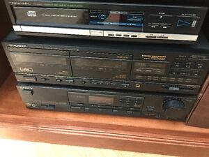 Lecteur Et enregistreur cassettes, lecteurs disques compacts
