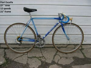 Vintage road bicycles