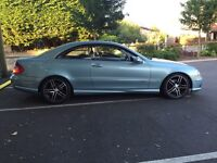 Mercedes CLK 270 CDI Avantgarde AMG Body Kit Private Plate Included