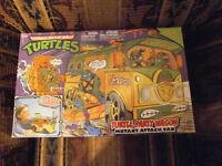 Teenage Mutant Ninja Turtles Party Wagon