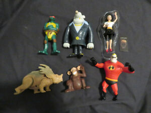 (6) McDonald's Action Figure collectibles $3 for the Lot