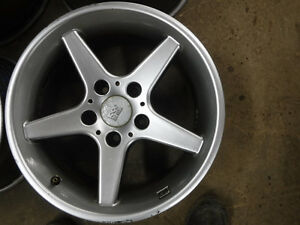 Aftermarket set of 4 'Mille Miglia' 16 inch wheels, 5x114mm