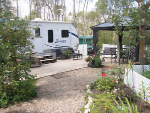 Full Service Seasonal RV sites. Call about our Fall promotion