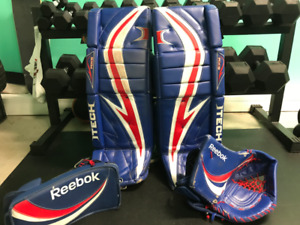 Goalie Pads/Blocker/Trapper (33+1) PRO