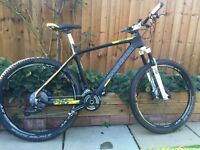 Boardman carbon mountain bike