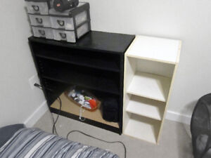 End table and Dressers