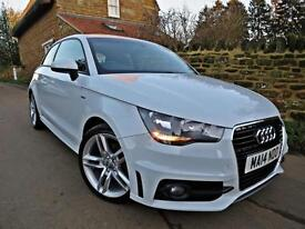 2014 AUDI A1 1.4 TFSI S-LINE. ONE OWNER, FULL AUDI HISTORY. AUDI WARRANTY !!