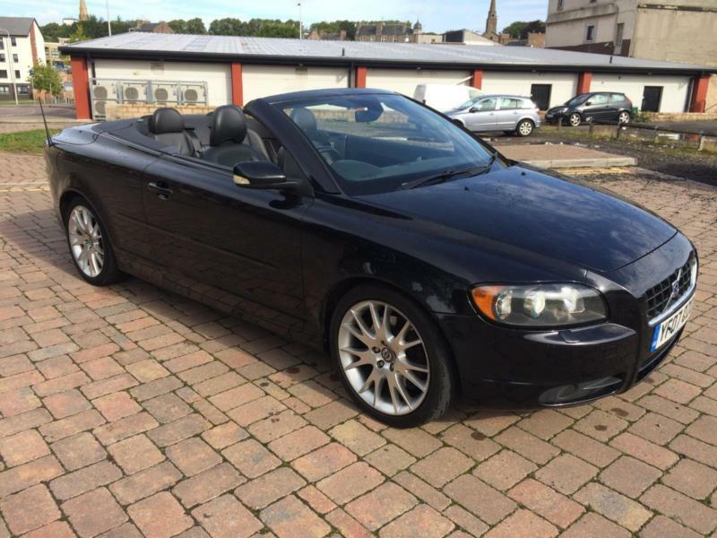 volvo c70 2 4 d5 auto cabrio sport finance available in brechin angus gumtree. Black Bedroom Furniture Sets. Home Design Ideas