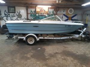 Boat and trailer for parts