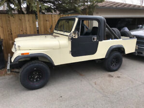1981 Jeep Scrambler W/ 4.0l Conversion CJ8