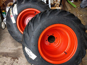 Goodyear 31x15.50-15 XTRA-TRAC Tires on Rims