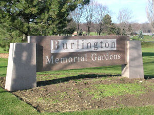 Burlington Memorial Gardens -Burial Plot