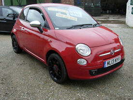 Fiat 500 1.2 ( 69bhp ) Street. PRICE REDUCED..Now only £5995!!
