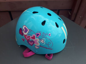 Girls Blue Schwinn Helmet