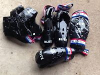 Used Blitz sparring gear