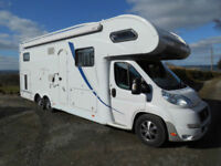 2011 Dethleffs Advantage 7871 6 Berth Motorhome with Large Rear Garage