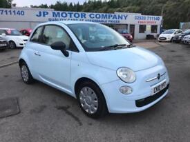 2010 Fiat 500 1.2 POP BLUE CHEAP CAR LOW MILEAGE £30 ROAD TAX