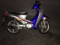 Wuyang 125cc breaking full bike