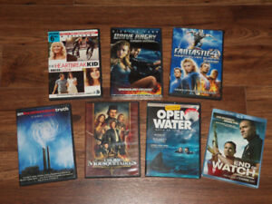 FILMS/ MOVIES      *$10 FOR ALL*  7 films/ 7 movies