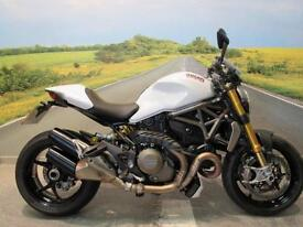 Ducati Monster 1200S 2015 *Low miles, ABS, Stunning in white*