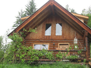 private log cabin for rent for May 1st