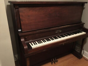 Weber Upright Piano In Excellent Condition