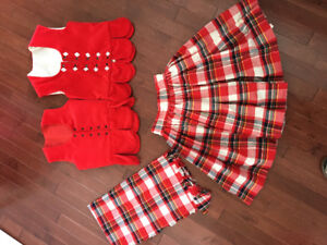 Aboyne Outfit Highland Dance Size 8-10
