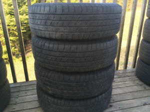 Four 215/70R15 Summer Tires