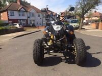 Road legal quad bike Quadzilla 250 NOT Yamaha raptor