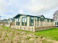 Lodge sited lake district for sale super lodge decked lake front plot Cumbria