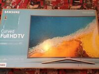 "49"" SAMSUNG CURVED SMART FULL HD TV"