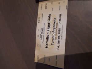 Hamilton tiger cats tickets