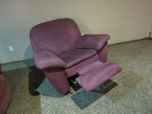 Couch and two recliner chairs