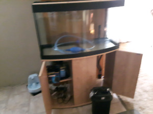 46 gal bow front