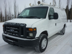 2014 Ford E-350Cargo Van SHELVING, ROOF RACK, PARTITION