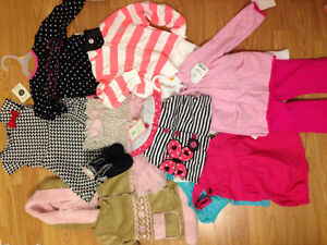 Brand new baby girl clothes/blankets