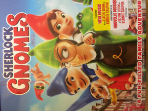Sherlock Gnomes  family DVD Blu-Ray Digital Brand New Great Gift