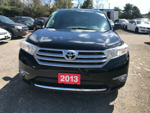 2013 Toyota Highlander Limited SUV, Crossover, Accident Free