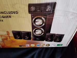 DiVinci 6.1 Music & Home Theater System Speakers