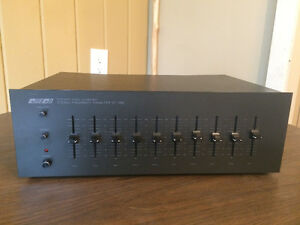 VINTAGE Queon QT-306 10 Band Stereo Frequency Equalize - $200 (